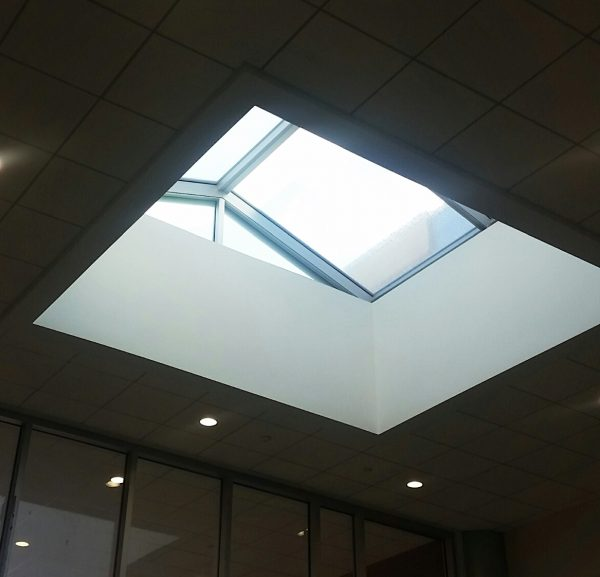 Smaller skylight unit