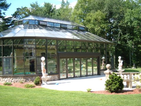 Boston Residence Pool Enclosure