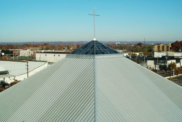 Roof of Promise Land Baptist Church