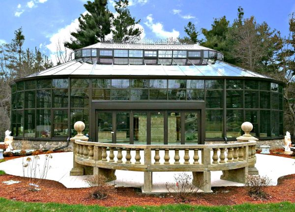 Pool Enclosure, Boston Residence