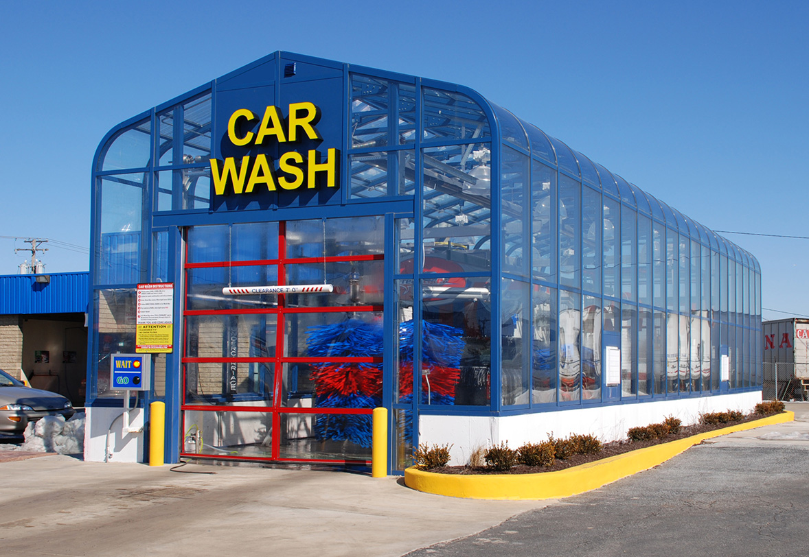 Automatic Car Wash Buildings