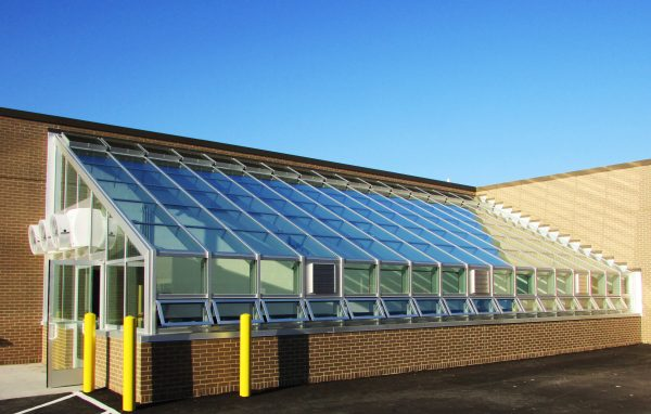 Lean-to Style GrowTech Greenhouse