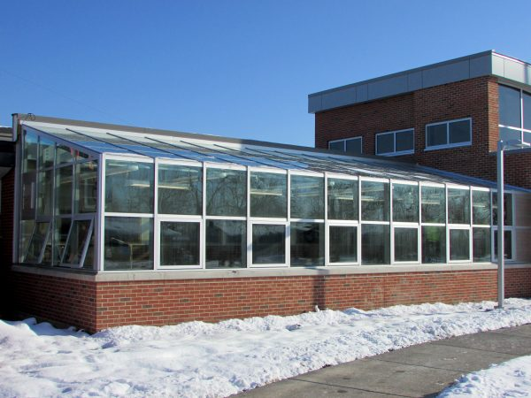 Greenhouse at Barack Obama School