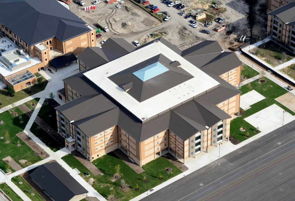 Leed Ing The Way At Lackland Afb Crystal Structures