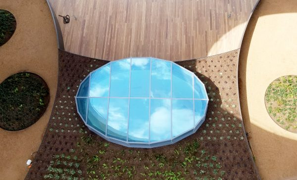 Entry Skylight from above