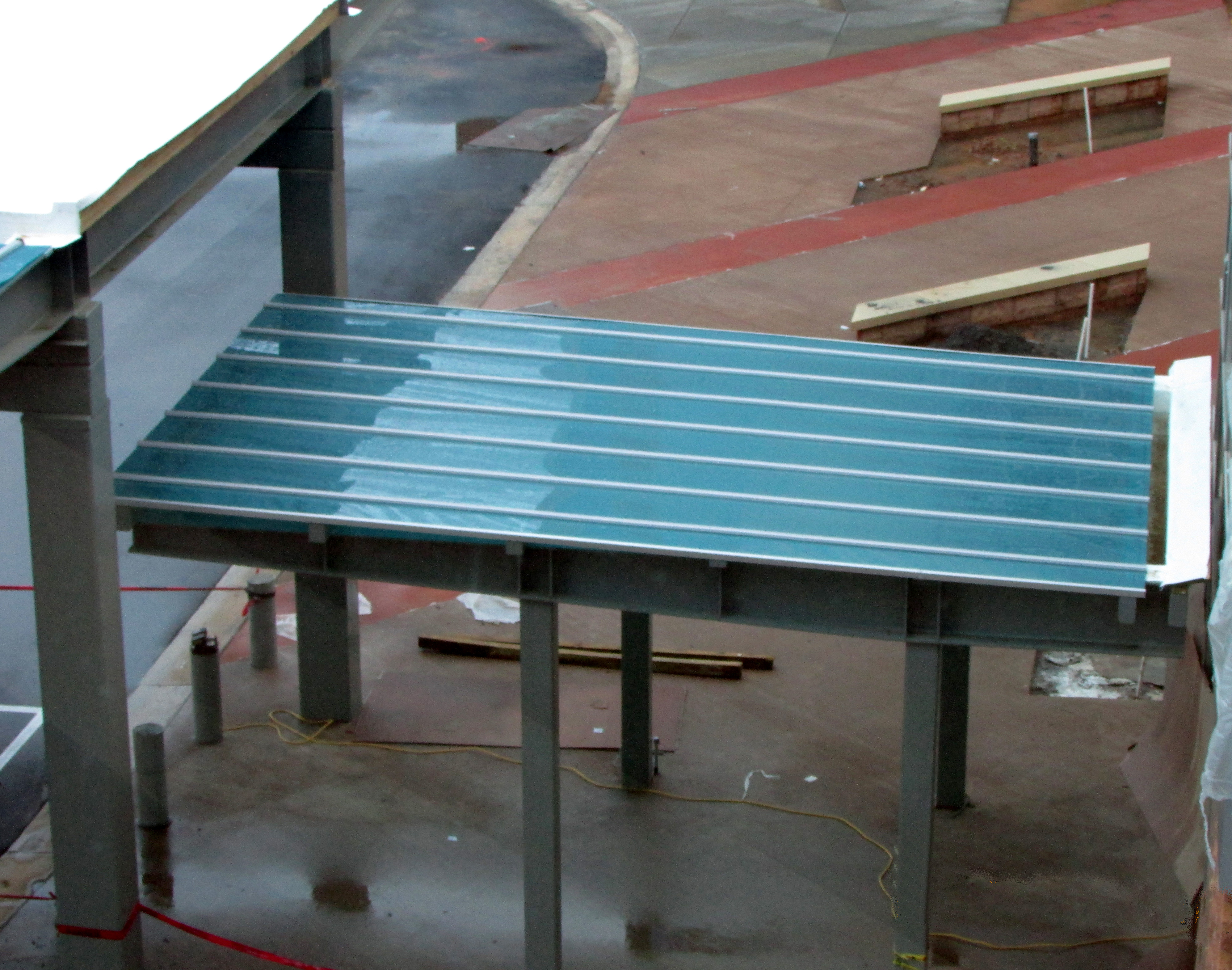 canopy & walkway covers - crystal structures