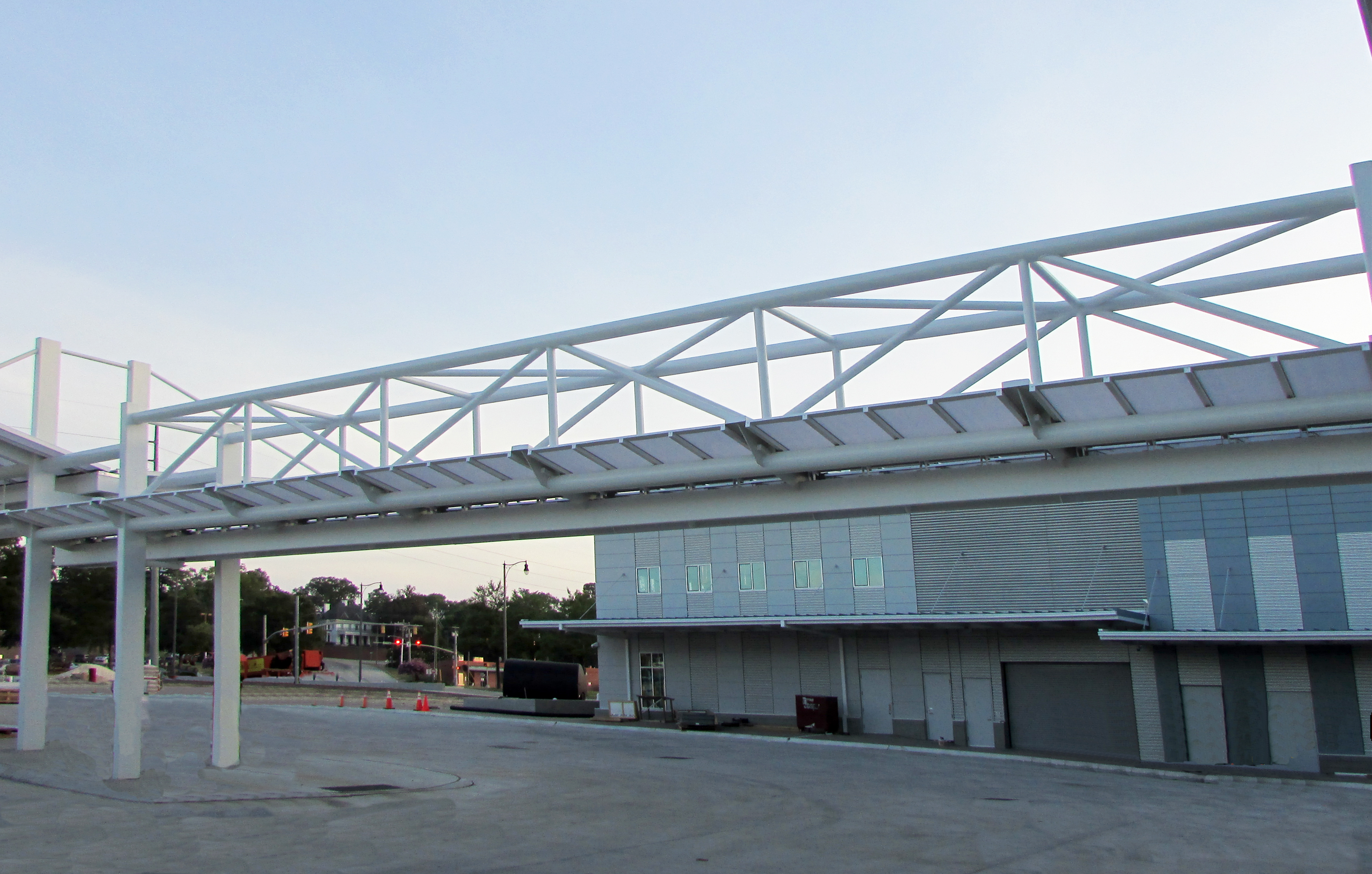 Contact us for a quote on your canopy system & Canopy system by Crystal Structures chosen for FAST Multi Modal