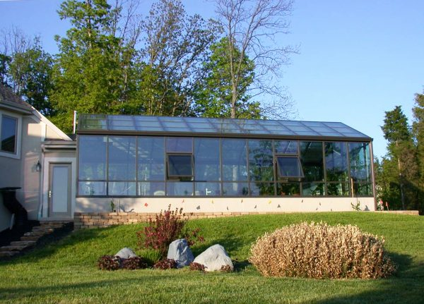 Architechural Grade Greenhouse