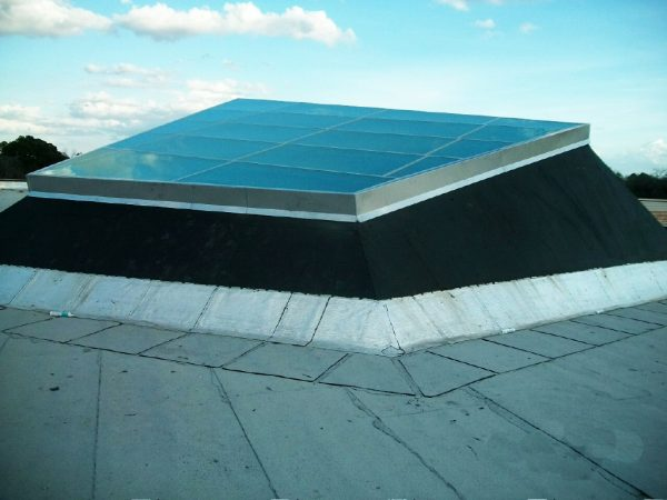 Skylight on Rooftop