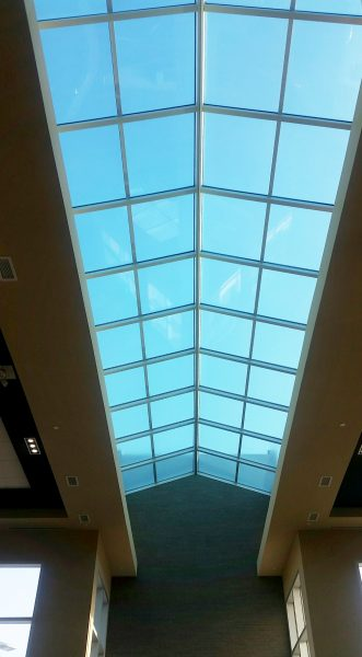 Skylight Completed from inside