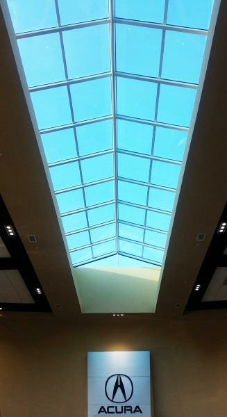 Skylight completed