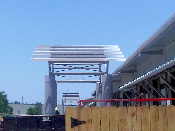 Frame for main canopy