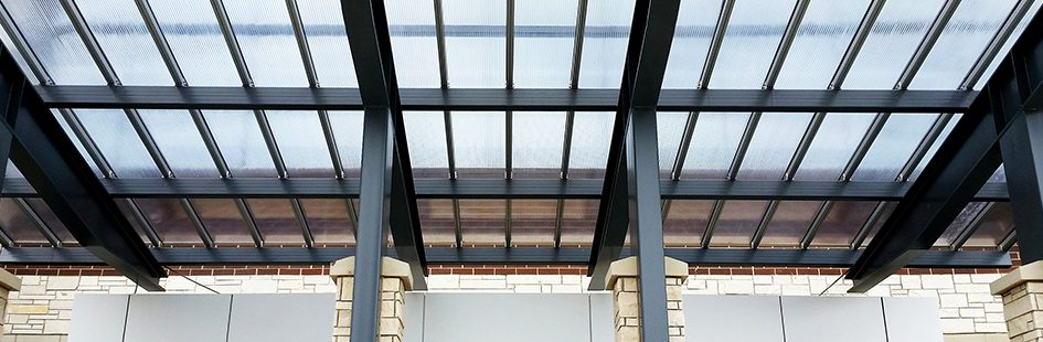 Porte Cochere At Lawrenceburg Event Center Offers Weather
